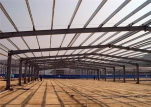 Quality Lightweight Steel Frame Construction , Free Designs Prefabricated Metal for sale