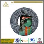 el alambre de acero de acero de la cuerda de alambre del cable de la cuerda de alambre de acero 7x19 galvanizó los aviones de la cuerda de alambre de acero