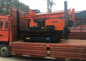 China Full Hydraulic Horizontal Directional Drilling Rig For 300m Drilling Depth on sale