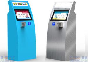 China Self Service Capacitive Touch Screen Check-in Kiosk At Airport For Travellers on sale