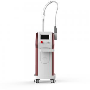 China PQ1 Vertical Q Switch Laser Tattoo Removal Machine For Facial Beauty Two Head on sale