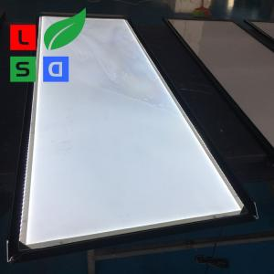 China Aluminum Ultra Slim LED Snap Frame Light Box For Indoor Poster Display on sale