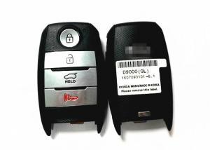 China Part Number D9000 KIA Keyless Entry / KIA Remote Key For KIA 2017 - 2018 Sportage QL on sale