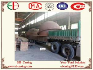 China Chaleiras de refinação com a cara fazendo à máquina da flange, a perfuração e o EB4024 de batida on sale