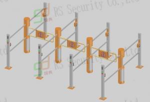 Quality 保証記入項目のスーパーマーケットの振動ゲート、自動振動障壁の回転木戸 for sale