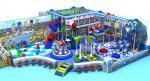 Attractive Sea Series Indoor Play Place Equipment Soft And Steel Kids Indoor Gym Set