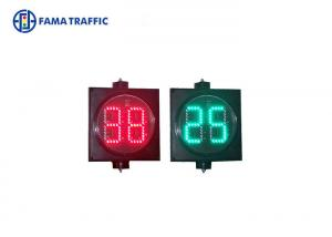 China 300mm Led Traffic Light Countdown Timer Two Digit Multilayer Sealed on sale