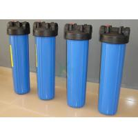 Plastic / PVC / PP Security Water Filter Housing For Water Treatment Purification Machine
