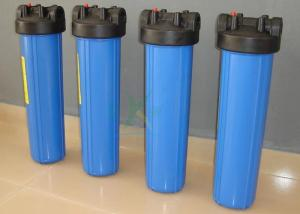 China Plastic / PVC / PP Security Water Filter Housing For Water Treatment Purification Machine on sale