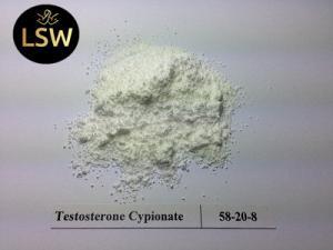 China 99% Purity Testosterone Cypionate Powder , Testosterone Anabolic Steroid CAS 58-20-8 on sale