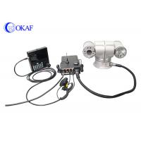 HID High Speed Vehicle PTZ Camera , Vehicle Mounted Camera For Surveillance
