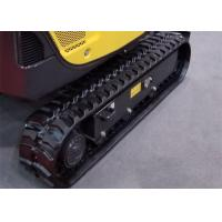 Libra 114s 115t 116s Excavator Rubber Tracks 45 Links For Construction Machine