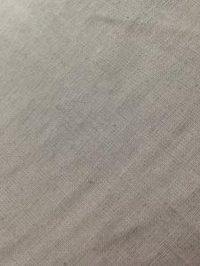 China Natural Gray Cotton and Linen Blend Fabric , Soft Textile for Men Women Skirts 30Ne X 30Ne on sale