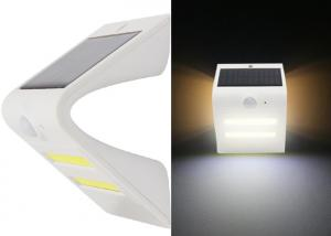 China Deck & Rail Lighting Solar Powered LED Wall Light 1.5W 150lm Weather Resistant on sale