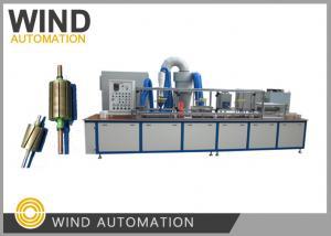 China Electrostatic Resin Powder Coating Machine Automatic Armature Rotor Stacks on sale