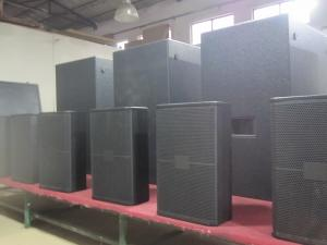 China Dual 18 In Professional Subwoofer Speakers For Performance , 1600 W Power on sale