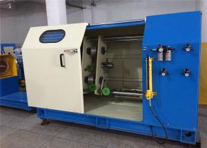 China Full Automatic Single Twist Wire Machine , Copper Wire Bunching Machine Low Noise on sale