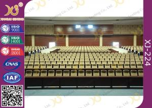 China Paint Plywood Flexible Armrest Commercial Theater Seating For Acoustic Room / Auditorium on sale