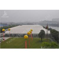 PVC Fabric Roof Outside Industrial Storage Tents Customized ISO CE Certification