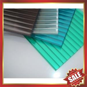 China twin-wall PC sheet,multiwall pc sheet,hollow pc sheeting,pc roofing sheet,twin wall pc sheet for greenhouse and building on sale
