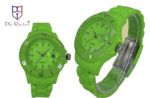 China 3v Lithium button battery free design and print logo Quartz Wrist Watch on sale