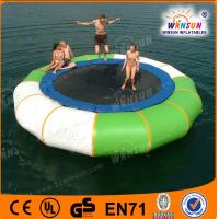 2014 WinSun produced CE water sports inflatable trampoline