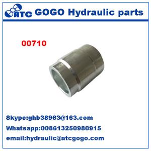 China Hydraulic Hose Ferrule Pipe Quick Connect Fittings , Fuel Hose Water Hose Quick Connectors on sale