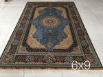 fábrica de seda iraní de la alfombra de Bélgica del color claro en Guangzhou