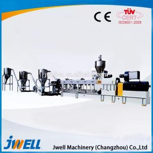 China JWE series co-rotation parallel twin-screw pelletizing machine on sale