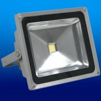 China 10w solar rechargeable led flood lights lamp outdoor with 50 - 60Hz 50,000 Hours Lifespan on sale