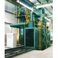 Roller Conveyor Shot Blasting Machine 7.5KW - 15KW For H Beam