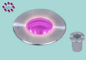 China 50 / 60Hz Waterproof Aluminum 1W LED Undergound Light For Bathrooms Lighting on sale