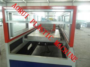 China WPC Chair Profile Plastic Extrusion Line , Bench Profile Machine on sale
