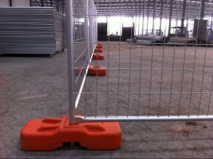 Quality Mobile Fence ,Temporary Fencing for sale 42microns zinc layer temp fence panels for sale