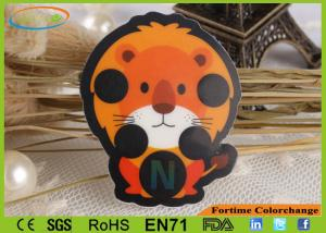 China Lion Shape Kids Forehead Thermometer Liquid Crystal Fever Sticker Cute 35 - 40 ℃ on sale