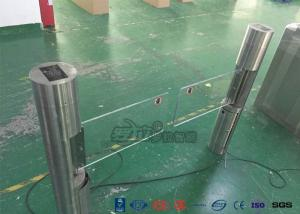China Intelligent Swing Automatic Barrier Gate With Aluminum Alloy Mechanism with people counting systems supplier