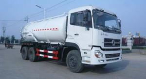 China Dongfeng Sewage Suction Truck 18000L vacuum sewage suction tanker truck on sale
