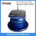 15 LED Blue Flash Solar Marine Aquaculture Lights With Spike Drive Bird Needle Sea Ship Signal Solar Buoy Security Lamp