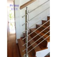 China Customized decorative stainless steel rod stairs railing on sale