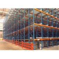China Dynamic Storage Adjustable Heavy Duty Pallet Racks / Gravity Roller Racking Systems For Cartons on sale