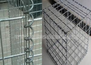 China Hot Dipped Galvanized Gabion Mesh Cells on sale