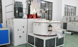 China Rubber / Plastic Raw Material Mixer , Elctric Self Friction High Speed Plastic Mixers on sale