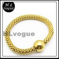 HLvogue Jewelry Wholesale Expandable Bangle Gold Bangles Models