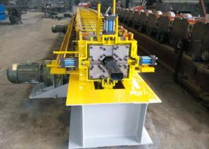 China One Bender Downspout Roll Forming Machine , Gutter Rolling Machine 10-15 M/ Min on sale