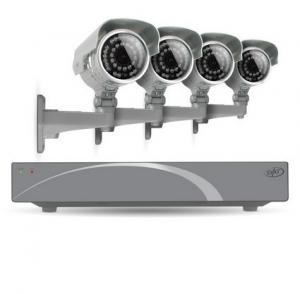 China 720P Waterproof Bullet IR IP Cameras With Motion Detection IR 20m on sale
