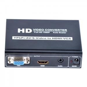 China YPBPR+CVBS+S-Video+R/L to HDMI+VGA+Stereo Audio Converter supplier