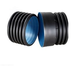 China HDPE Double Wall Corrugated Pipes for Buried Cable Protection on sale