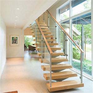 China China Manufacture Tread Support Staircase Accessories For Mono Stringer Straight Stairs wooden stairs for house on sale