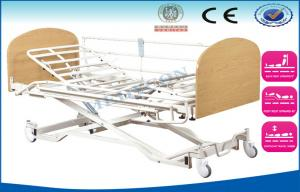 China Extension Semi Fowler Electric Nursing Beds , 3 Function Critical Care Beds on sale