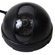 China 0.5 LUX Color Vandal Proof CCD Dome Camera Small For Families wholesale